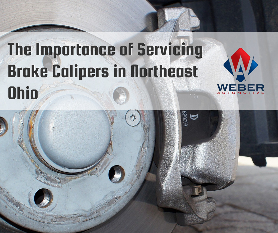 Weber does brake caliper services to keep them running long and strong | North Olmsted, OH
