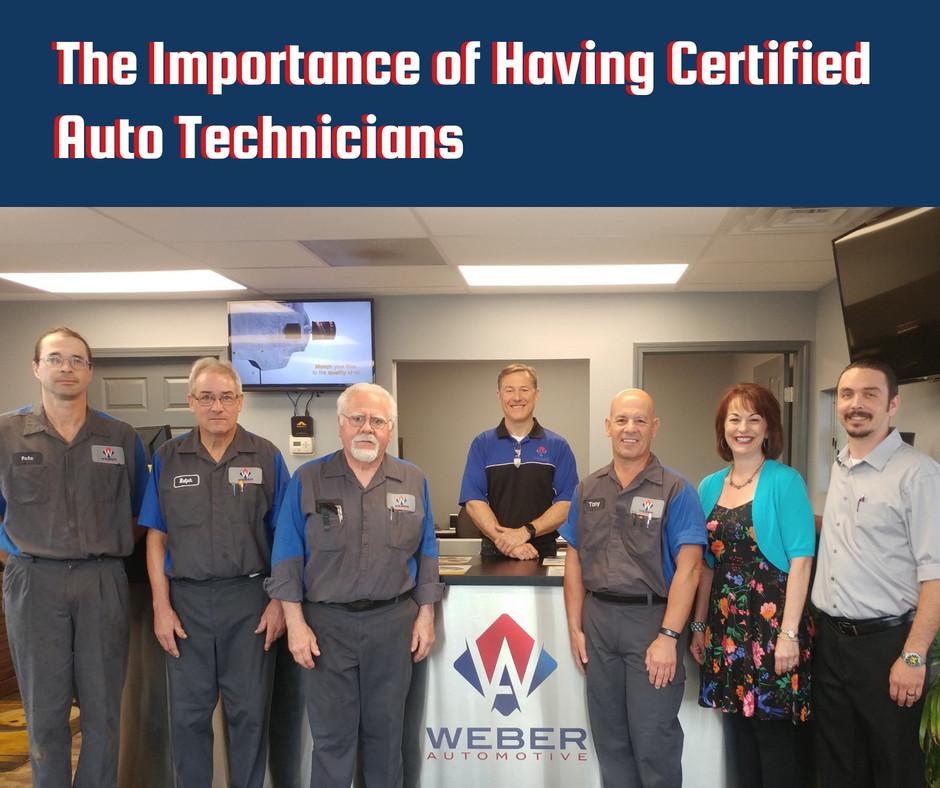 Certified Auto Technicians