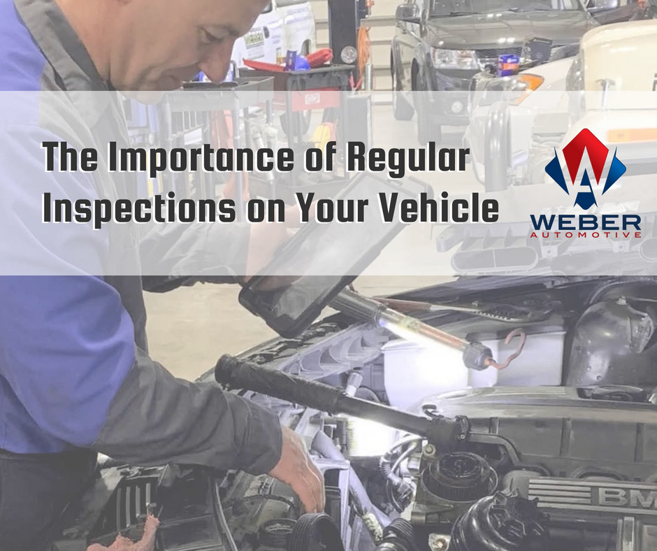 Weber conducts an inspection on every car that comes into their shop! | North Olmsted, OH