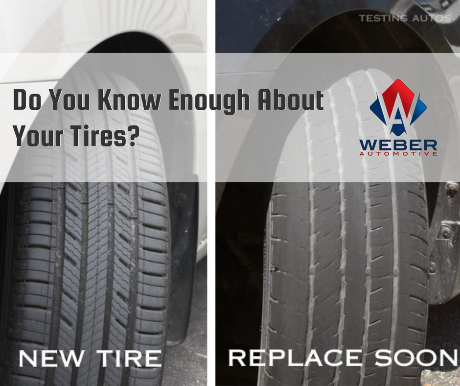 Do You Know Enough About Your Tires? | Weber Automotive | Cleveland, Ohio