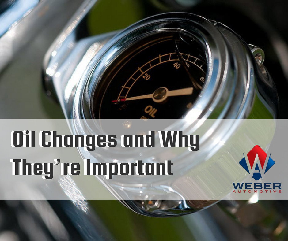 Getting an oil change can save you money and keep your car running longer at Weber Automotive | North Olmsted, Ohio