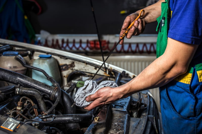 Oil Changes at Weber Automotive