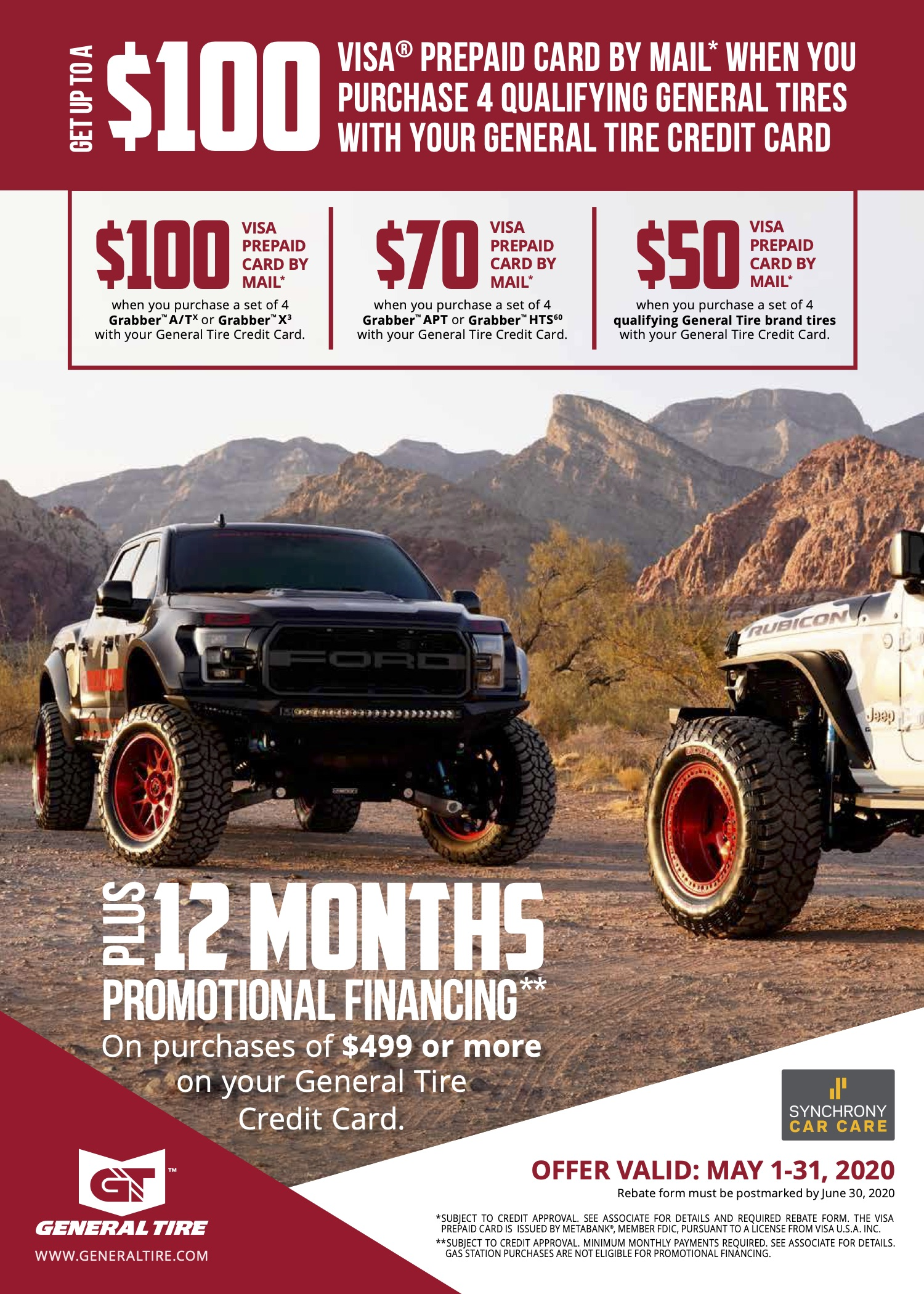 may gt monthly special