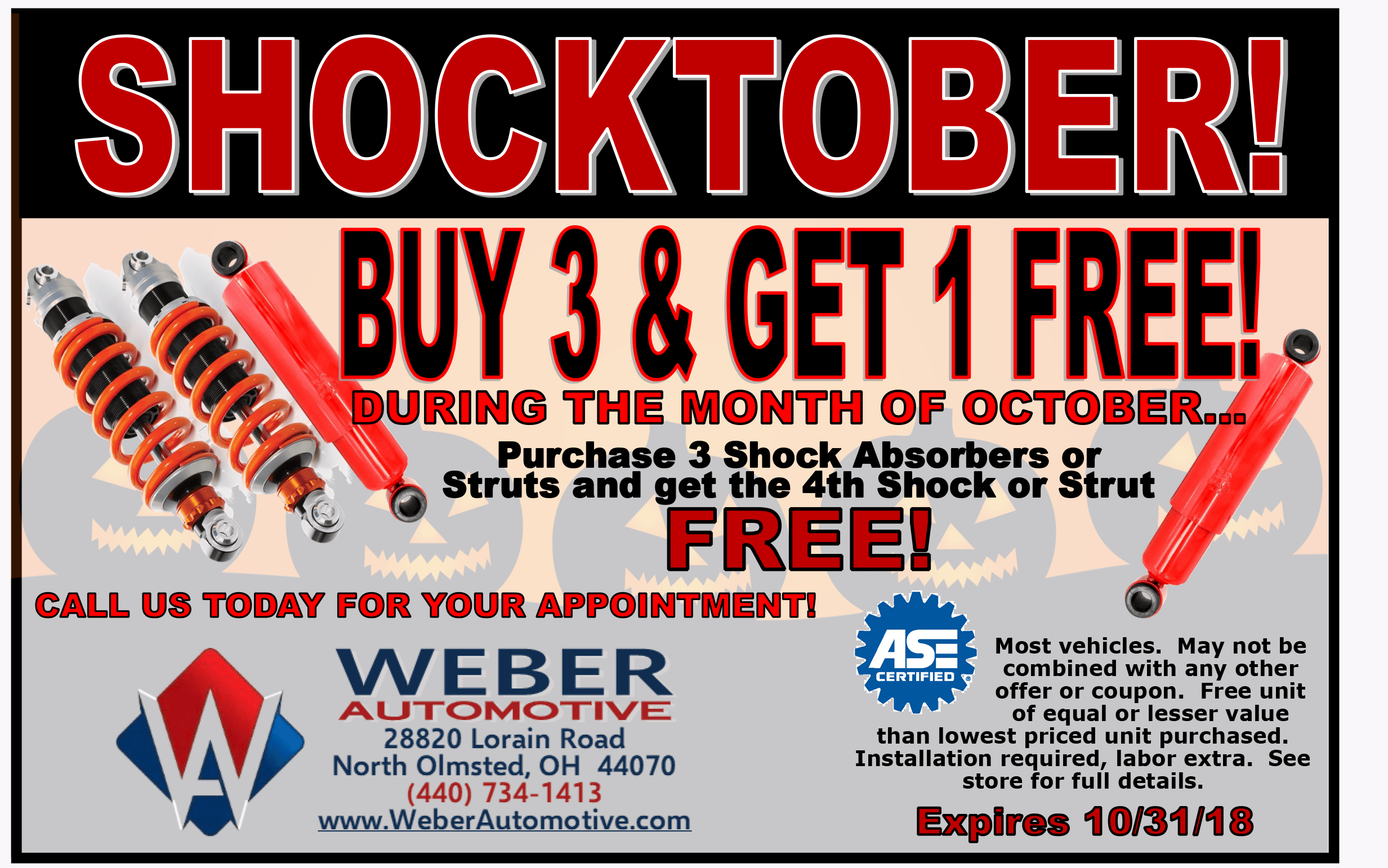 Celebrate Labor Day all Month Long | Weber Automotive
