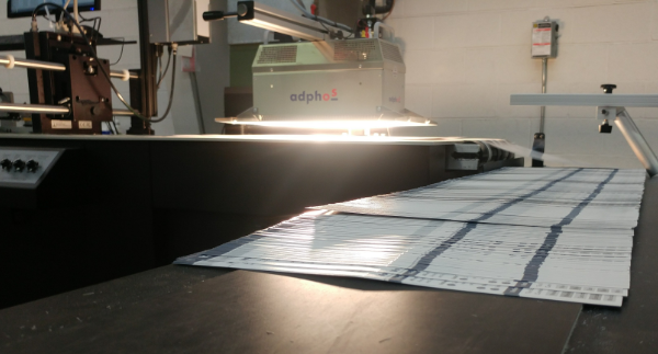 Addressing and Laser Printing