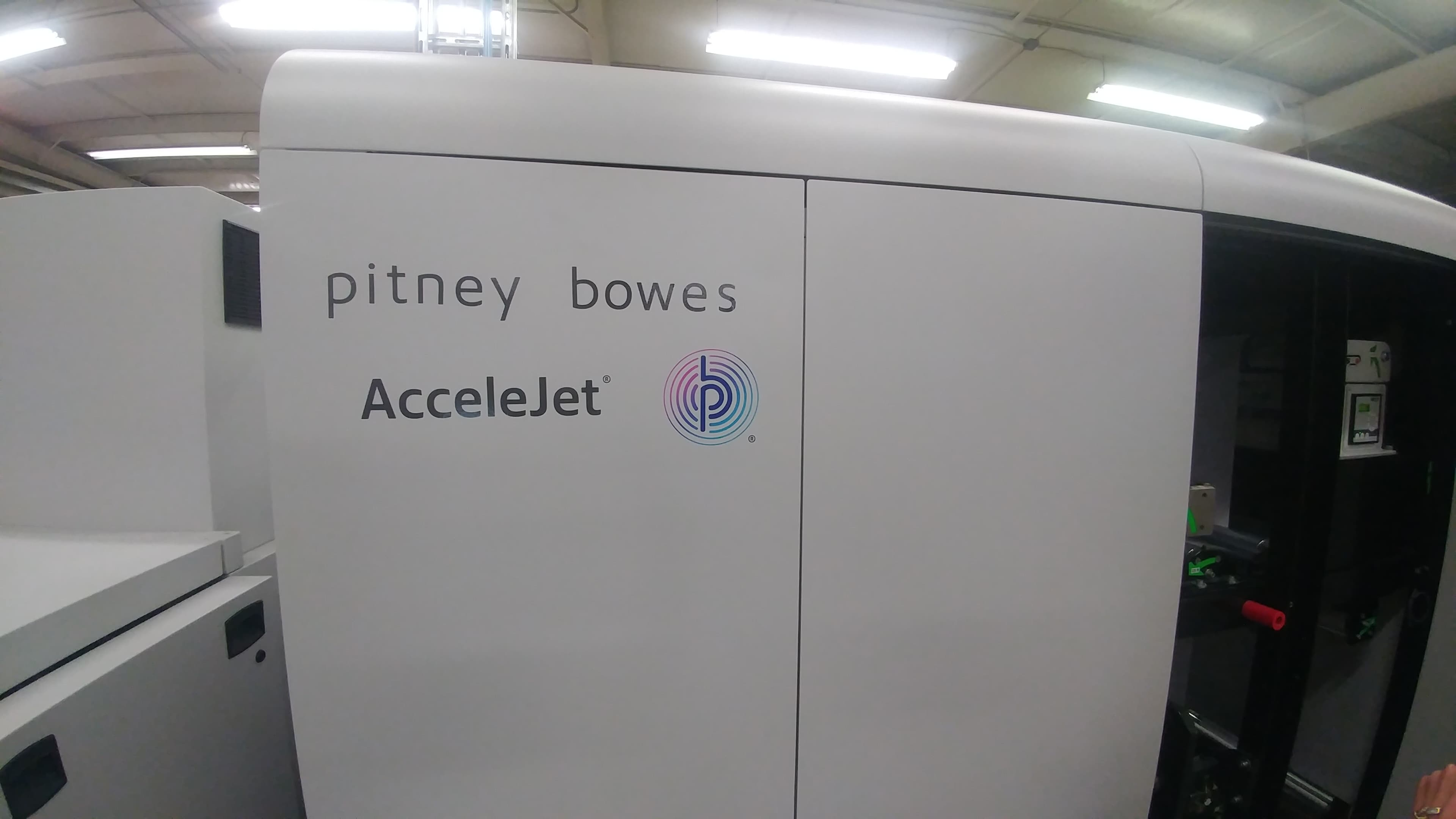 Accelejet Color Ink Jet Finishing System | Weekleys Mailing