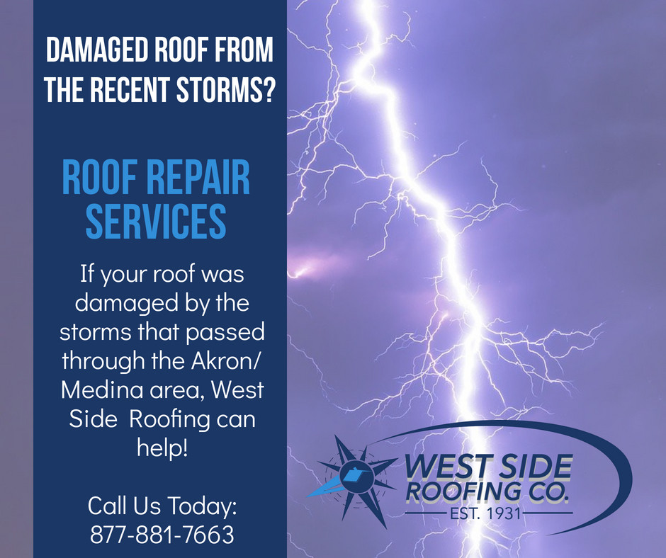 Roof Damage Repair from Recent Storms Image