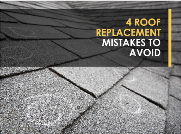 4 Roof Replacement Mistakes to Avoid | westside roofing