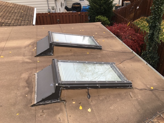 West Side Roofing can repair your skylight on a flat roof | Cleveland,OH | Roofing