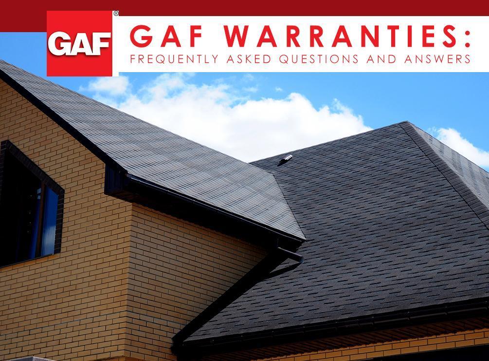 GAF Warranties | Westside Roofing