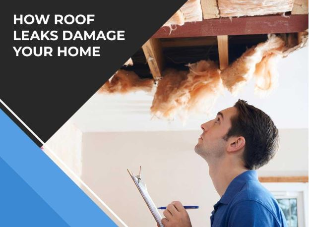 How Roof Leaks Damage Your Home