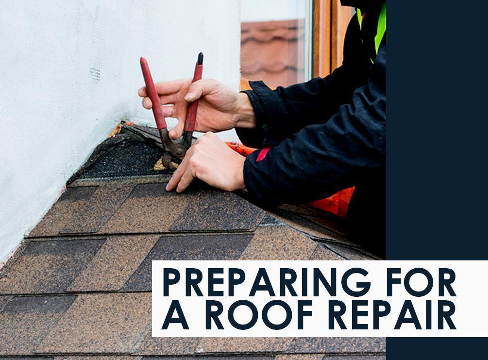 Preparing a Roof For Repair