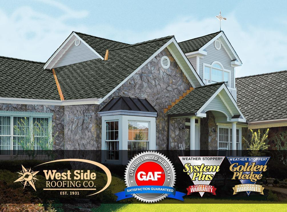 Superior Warranties from GAF and West Side Roofing