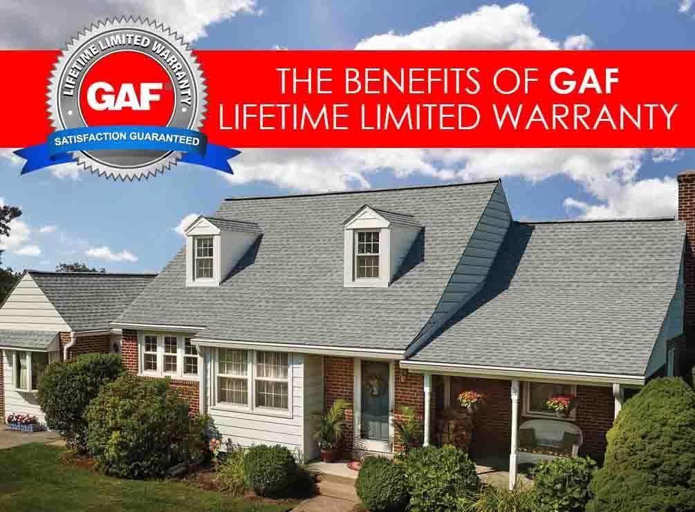 The Benefits of GAF Lifetime Limited Warranty