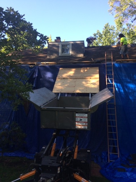 Equipter and tarp protect your home | Cleveland, Ohio | West Side Roofing