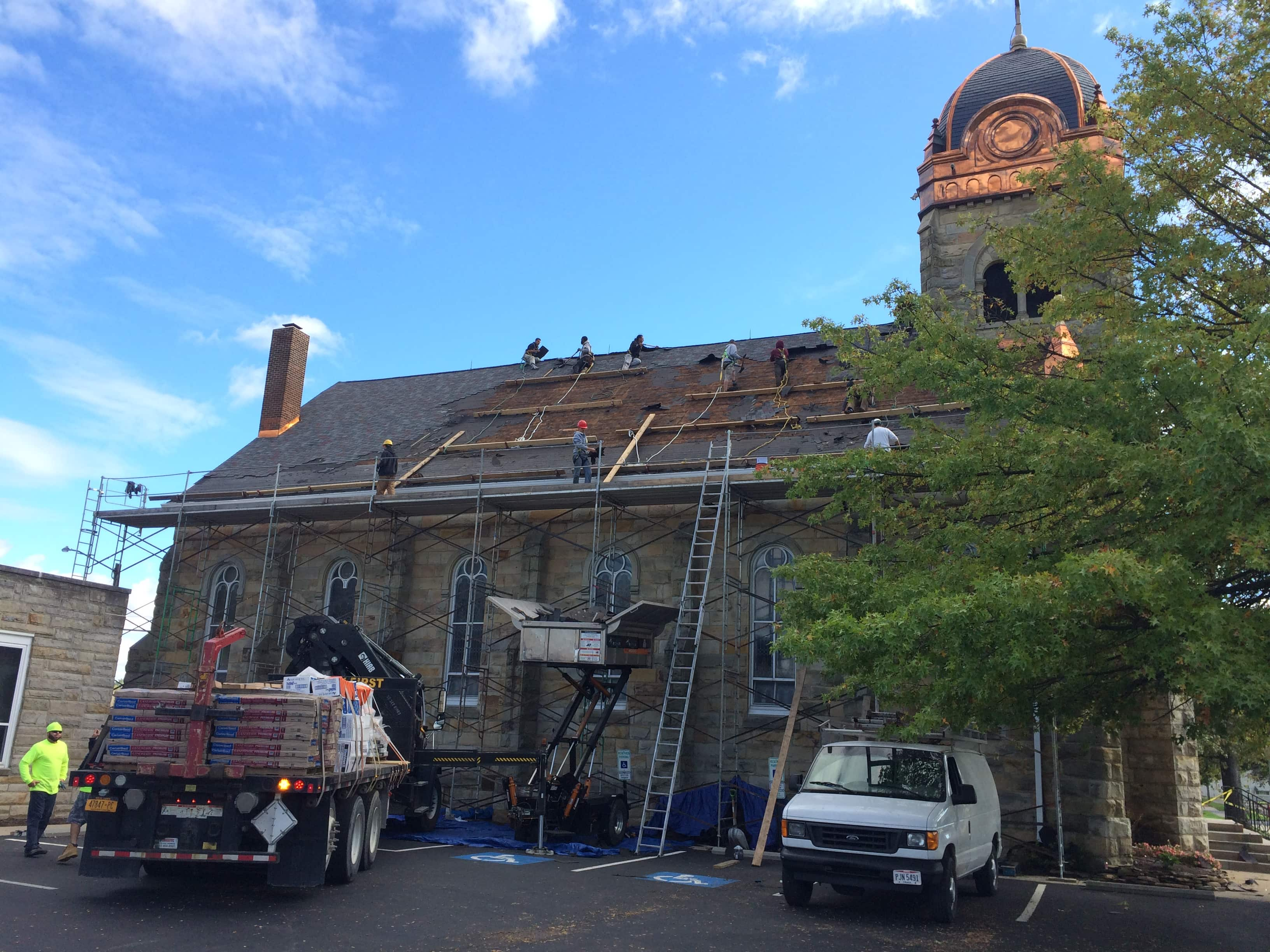 Church roof Repair in Grafton, OH