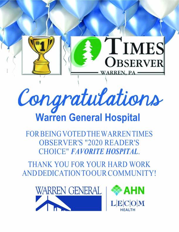 WGH voted #1 hospital