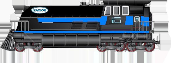 zaclon train   family of products